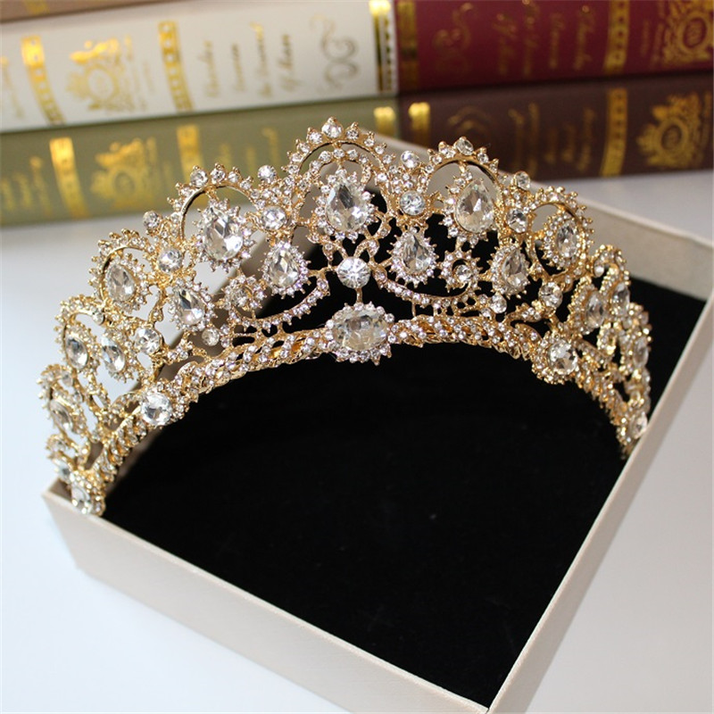 Tiara Hair-Accessories Crown-Molding Wedding-Dress Studio Greek Goddess Bridal Retro