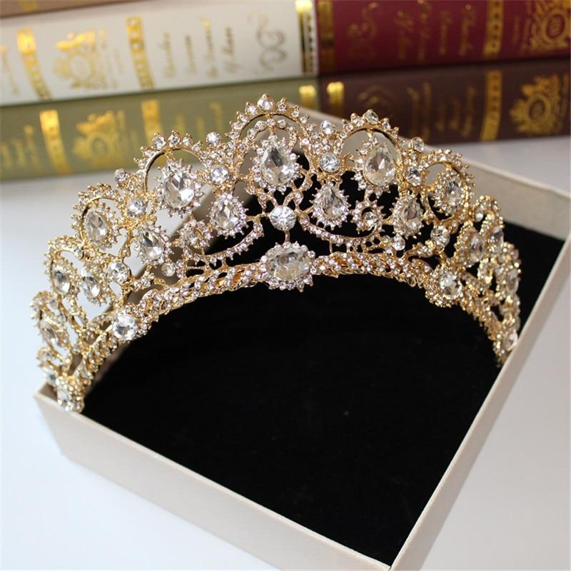 Tiara Hair-Accessories Crown-Molding Wedding-Dress Studio Greek Goddess Bridal Retro