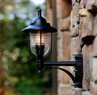 Новинка 2015 Тип Европа открытый настенный светильник водонепроницаемый Открытый Бра Настенные светильники наружного освещения содержит св