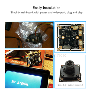 Image 4 - 700TVL Analog โมดูลกล้องวงจรปิด CMOS SENSOR Home Security กล้องเฝ้าระวังวิดีโอ Mini CVBS Security ระบบ Motion Sensor