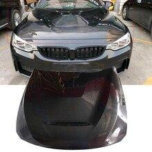 F80 M3 FRP из углеродного волокна/Грунтовка углеродного волокна/полный углеродного волокна капота Крышка Капота вытяжки для BMW F80 M3 F82 M4