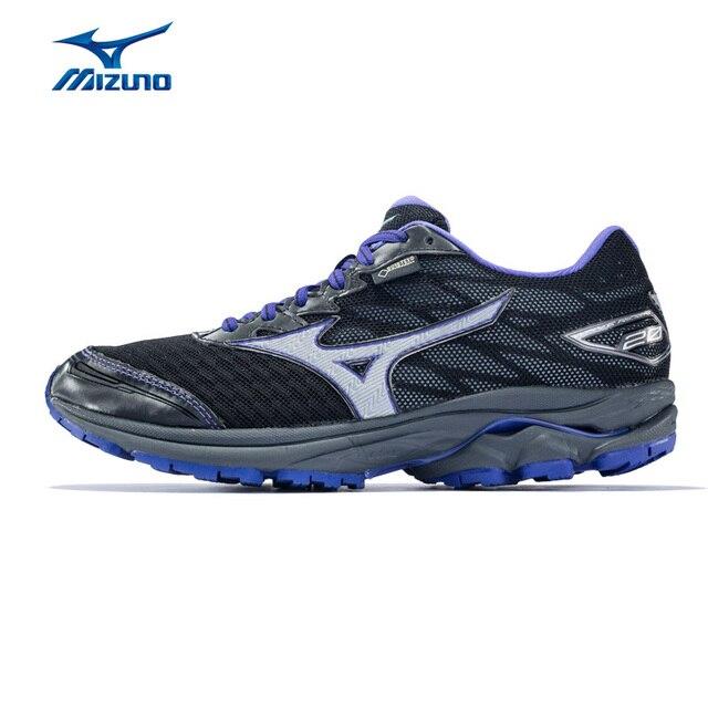 4553c983b459 MIZUNO Women WAVE RIDER 20 GTX Professional Jogging Running Shoes Sports  Shoes Cushion Sneakers J1GD177403 XYP581