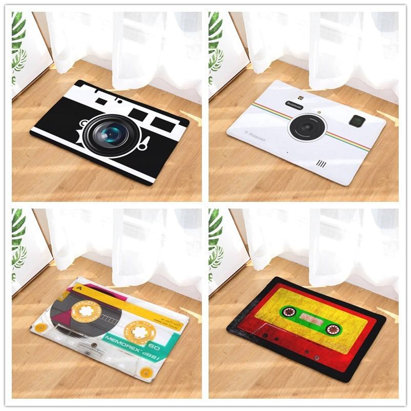 Eerlijkheid Magnetische Tape Stijl-print Tapijten Anti-slip Floor Mat Outdoor Tapijten-voordeur Matten 40x60or50x80cm