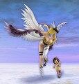 1 шт. аниме Digimons Angewomon Ягами Hikari Angemon Takaishi Такеру пвх цифра игрушка высотой 21 см в коробке горячей продажи