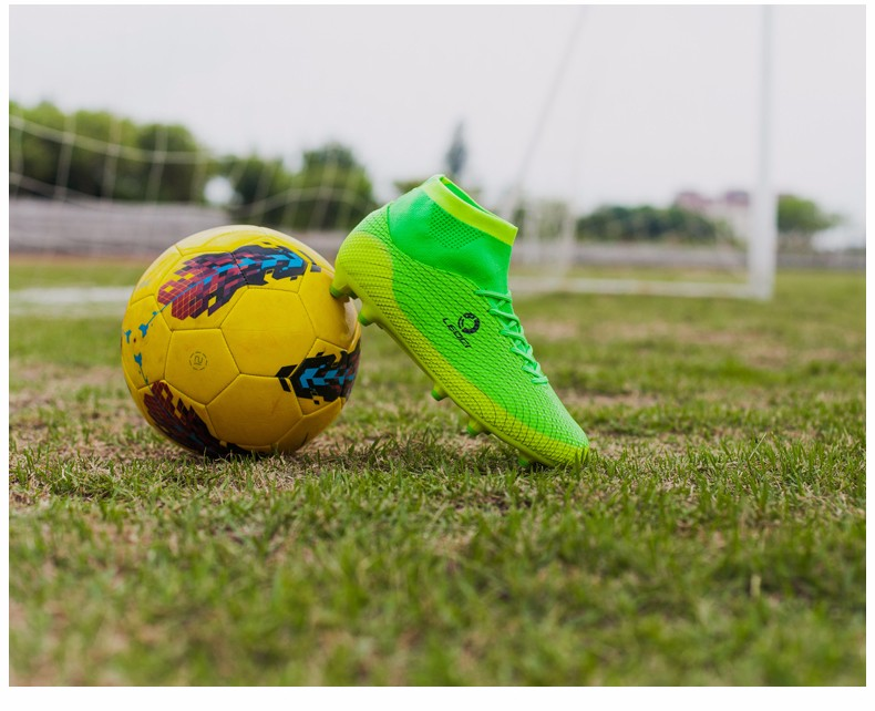 2017 High Ankle Kids Football Boots Superfly Original Cheap Indoor Soccer Football Shoes Cleats Boys Girls Sneakers High Quality 5