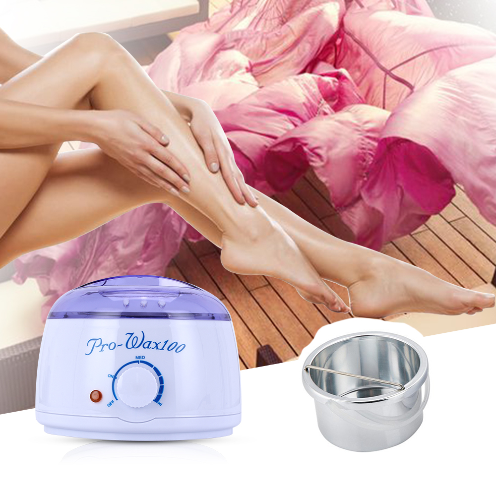 Wax Heater For Depilation Paraffin Depilatory Hair Removal Tools Mini Hand Epilator Foot Wax Warmer Pot Machine Beauty Salon