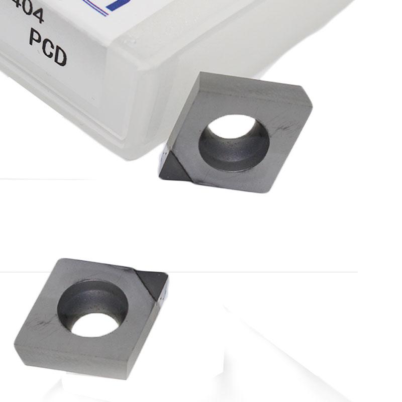 10pcs CCMT060204 08 Insert PCD CBN 1pc Diamond Cutting Tool Tipped Turning Tool CNC Lathe Metal