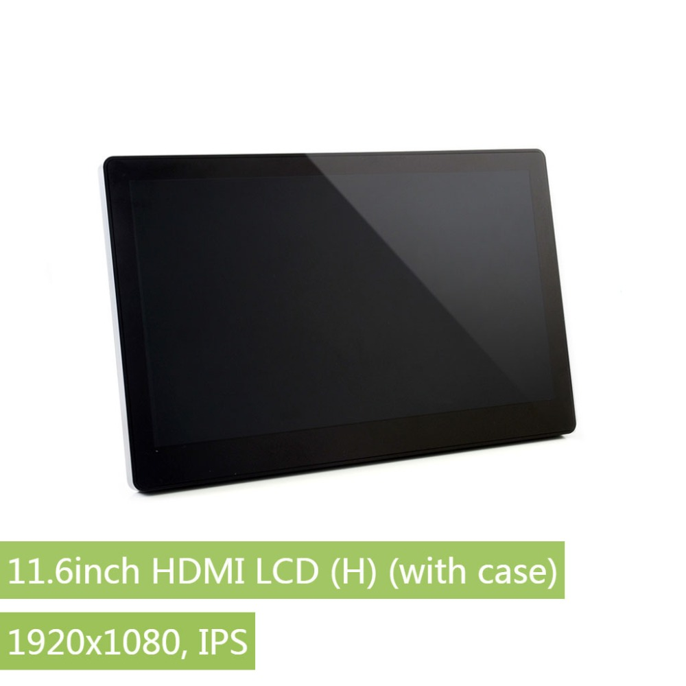 Waveshare 11.6inch,IPS ,1920x1080, Capacitive Touch Screen,Toughened Glass Cover,For Raspberry Pi,BB Black,PC,Windows 10/8.1/8/7-in LCD Monitors from Computer & Office    1