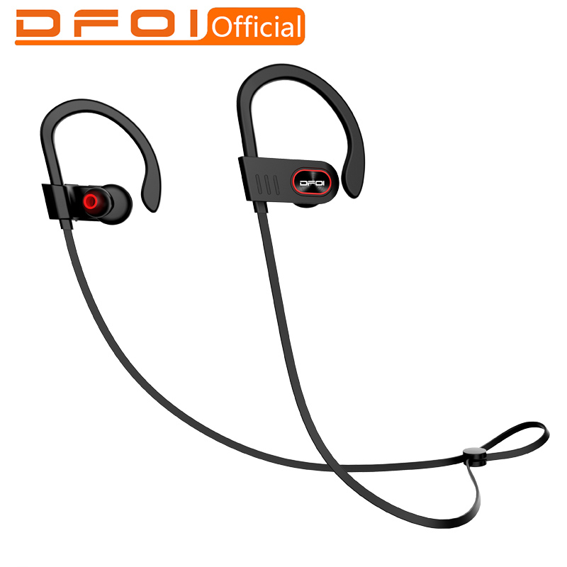 цена на DFOI bluetooth headphones wireless earphones headphone wireless headset bluetooth sport waterproof headphones with microphone
