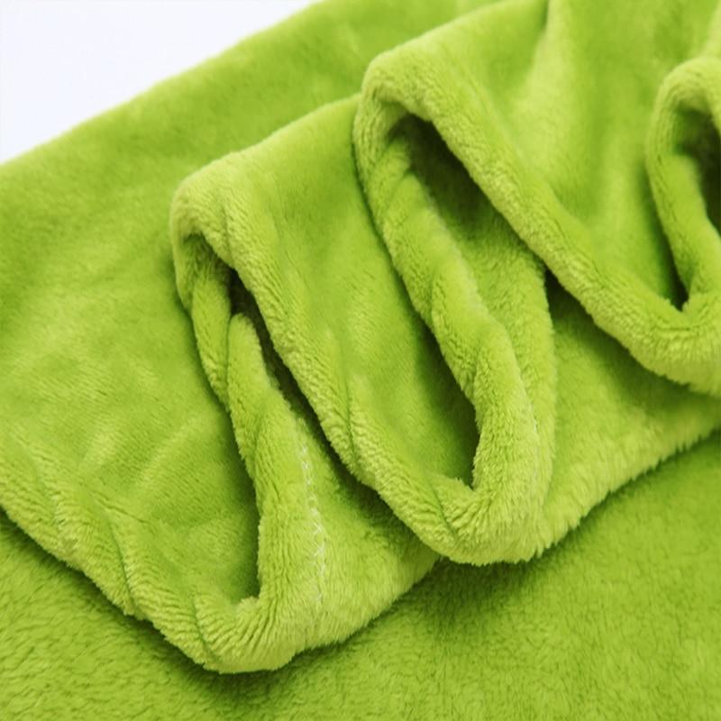 Ζεστό πωλούν Flannel Coral Fleece Κουβέρτα - Αρχική υφάσματα - Φωτογραφία 4