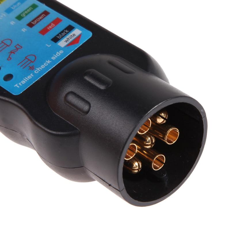 7pin Fahrzeug Auto Anhänger Abschleppen Licht Kabel Schaltung ...