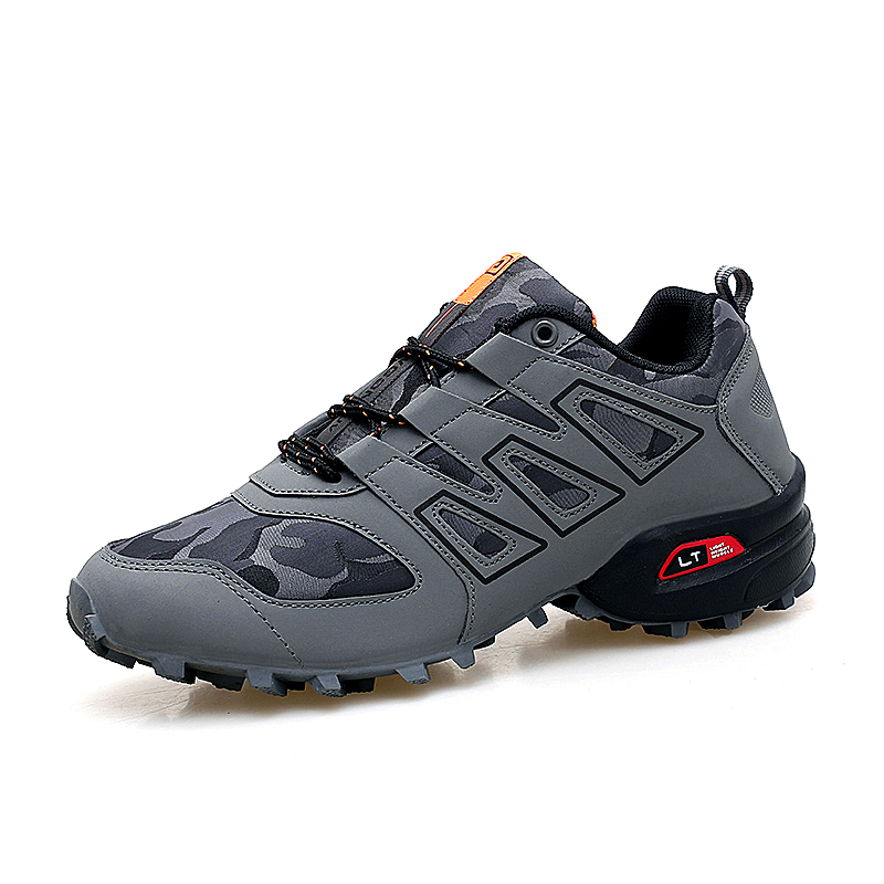 Fashion Outdoor Hiking Shoes Men Breathable Tactical Boots Non slip Hunting Boots Mens Sport Shoes Sneakers