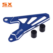 Motorcycle CNC Front Chain Guard Sprocket Protector Cover For YAMAHA YZ250F YZ450F YZF250 YZF450 YZ250FX YZ450FX WR250F WR450F motorcycle front sprocket chain cover guide guard protector for yamaha yz250 yz250f yz450f yz250x wr250f wr450f