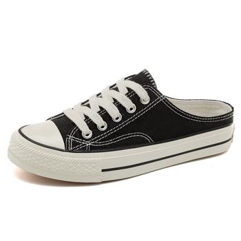 Modne męskie buty młodzieżowe Casual Unisex białe trampki oddychające buty do chodzenia na płótnie mężczyźni kobiety czerwone wiązane płaskie buty tanie i dobre opinie Dla dorosłych Płótno Fabric Stałe Lace-up Szycia Lato Pasuje prawda na wymiar weź swój normalny rozmiar Mieszkanie (≤1cm)