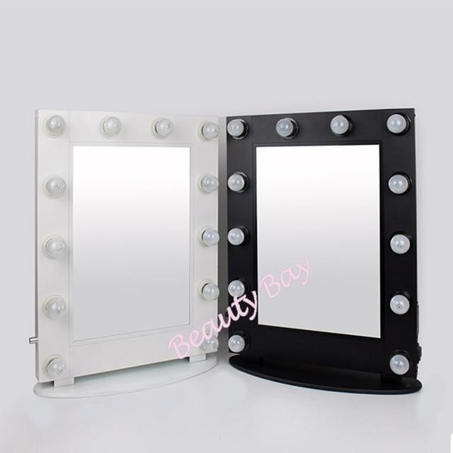 Dimbare hollywood wandmontage en destop make spiegel met led ...