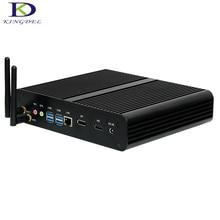 Безвентиляторный Mini ITX PC NUC i7 6500U/i7 6600U8/16 г 1 т SSD 1 т HDD двойной ядро, HD Графика 520, DP HDMI 4 К, без вентилятора Barebone PC NC360