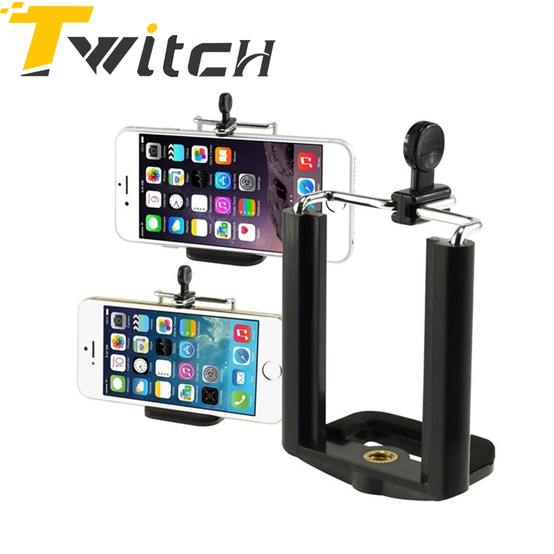 Wholesale Universal Clip Holder Camera Monopod Tripod Mount Stand Bracket for iPhone