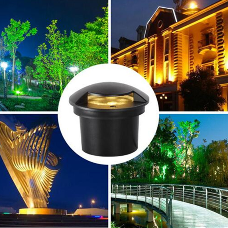 Apprehensive 12w 3w Waterproof Led Light Garden Underground Light Outdoor Buried Garden Path Spot Recessed Inground Lighting 24v Dust-proof Price Remains Stable Led Underground Lamps