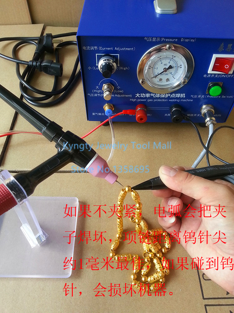 Free Shipping Jewelry Tools and Equipment Jewelry Argon Spot Welder Jewellery Welding Machine