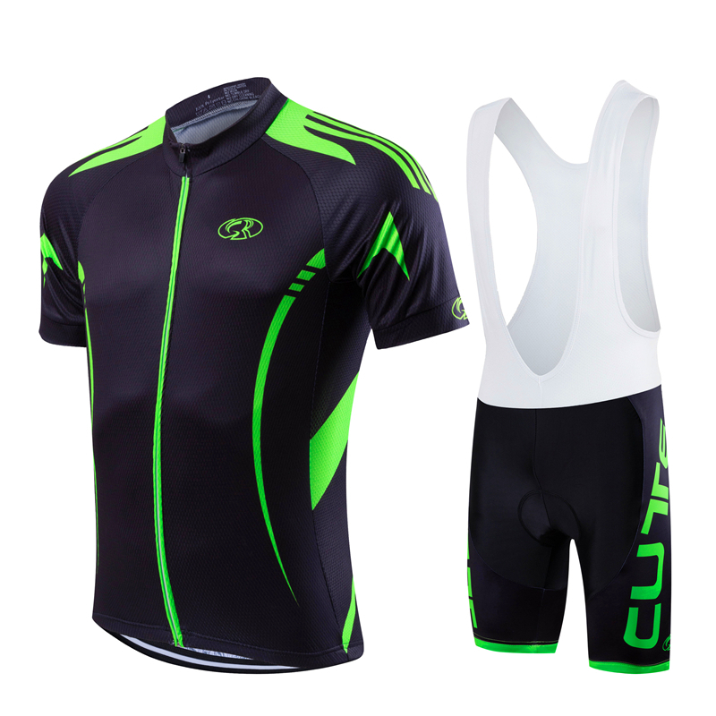 FASTCUTE Brand Pro Summer Bicycle Jersesy Breathable Cycling Set Short Sleeve Mountain Bike Clothing 2017 Maillot Ropa Ciclismo