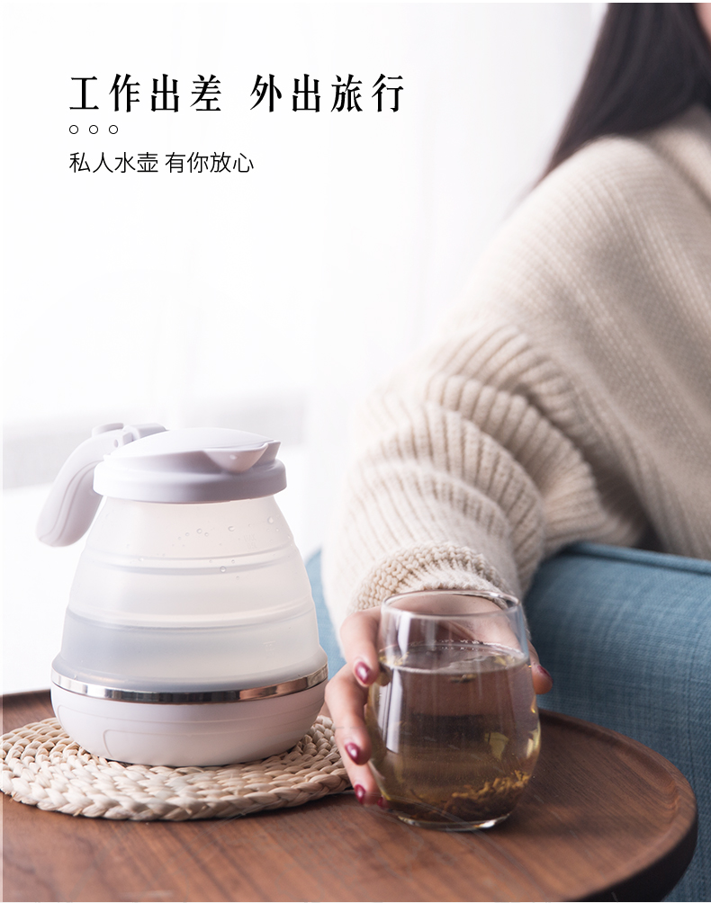 Electric Kettle Z05 Travel Folding Electric Kettle Mini Water Cup Kettle Home Travel Portable 9