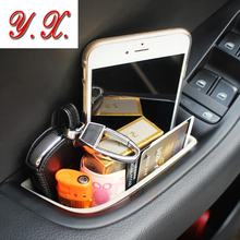 Фотография Car styling High Quality Interior modified Door storage box compartment box for audi a3 a4 a5 q5 a7 Interior Car Accessories