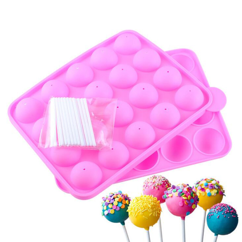 Silicone Cake Pop Kit