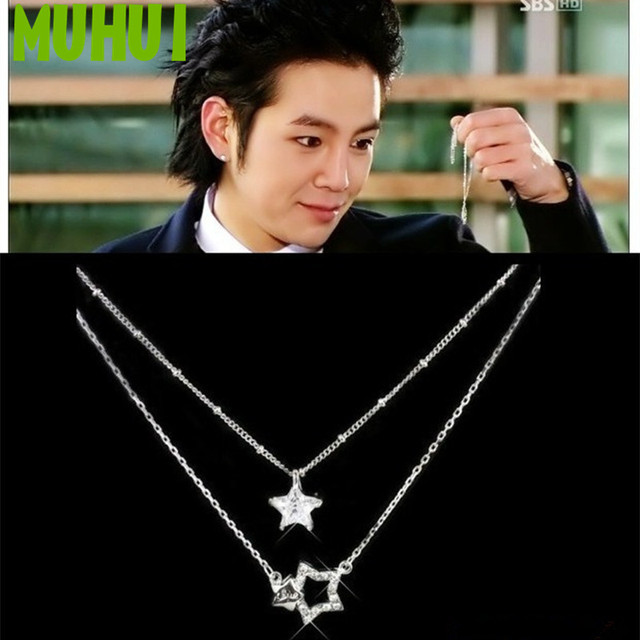 Tv Series Youre Beautiful Custom Design Double Layer Crystal Star