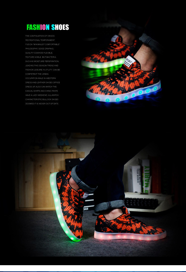 Led Sneakers Honeycomb 3