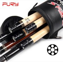 New Arrival FURY 4 Shafts 3 Butts Pool Stick Kit Cue Portable Case Billiard Accessories Black White Camouflage Color China