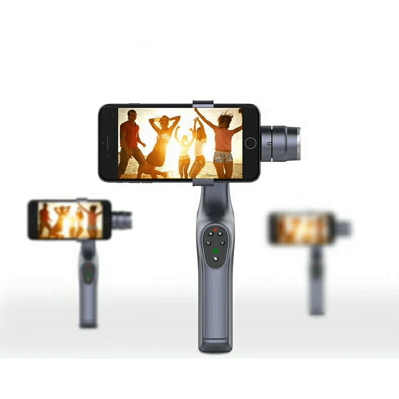 Salange 3-Axis Handheld Gimbal Stabilizer for Smartphone Phone Portable PK DJI Osmo 12mp 980 mah handheld steadygrip 4k camera 3 axis gimbal x3 for osmo kit
