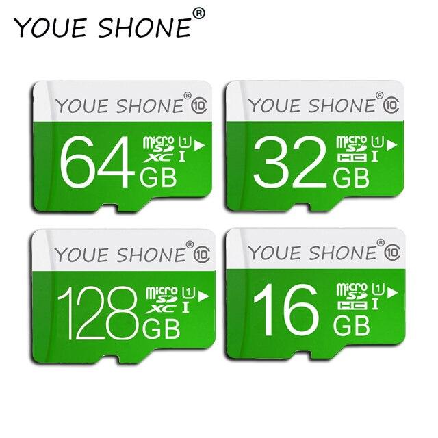 Высокое качество карты памяти Micro SD card 64G 32 GB карты памяти 16 Гб, 32 ГБ, 64 ГБ 128 GB class 10 Micro SD карты памяти с адаптером посылка