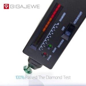 Image 5 - GIGAJEWE GEMA de diamante de laboratorio, piedra suelta de laboratorio de corte redondo verde oscuro, 1,0 CT, para joyería DIY, regalo de novia