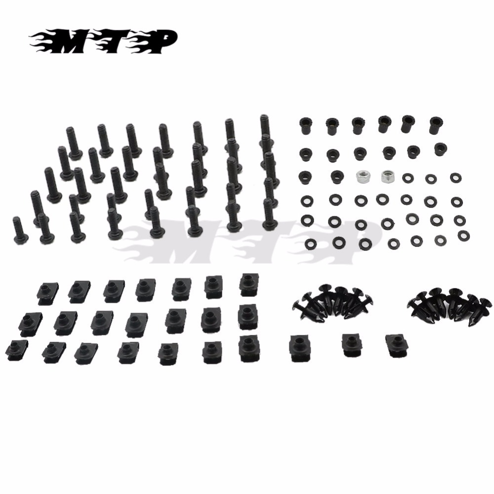 Fairing Bolts For Yamaha YZF R1 YZFR1 1998 1999 YZF-R1 YZF1000 98 99 Body Fairings Bolt Screw Fastener Fixation Kit After Market
