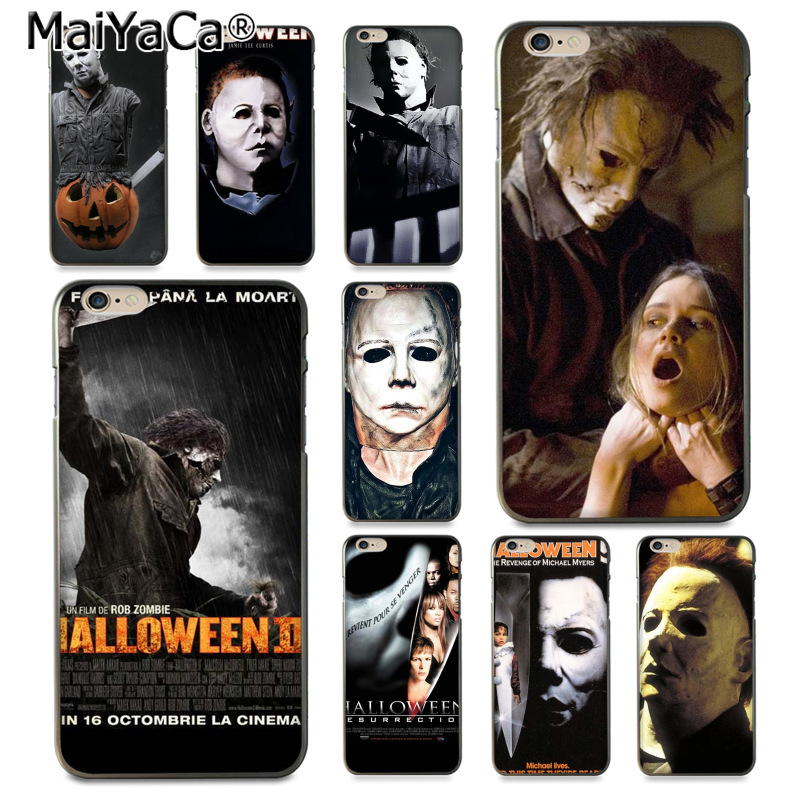 MaiYaCa Halloween The Curse Of Michael Myers Movie Phone Accessories Case for iPhone 8 7 6 6S Plus X 10 5 5S SE 5C Coque Shell