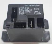 20pcs lot JQX 105F 4 220V 1HS 220VAC 30A HF105F 4 JQX 105F 4 220A