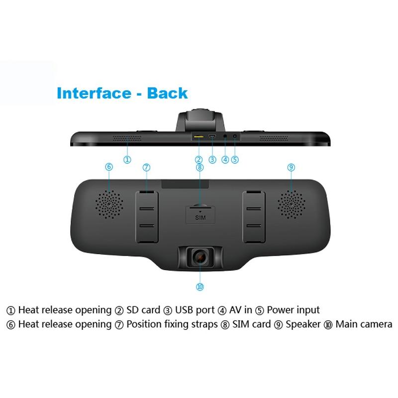 1080P 3G Android-spiegelbandmonitor met dubbele camera voor - Camera en foto - Foto 4