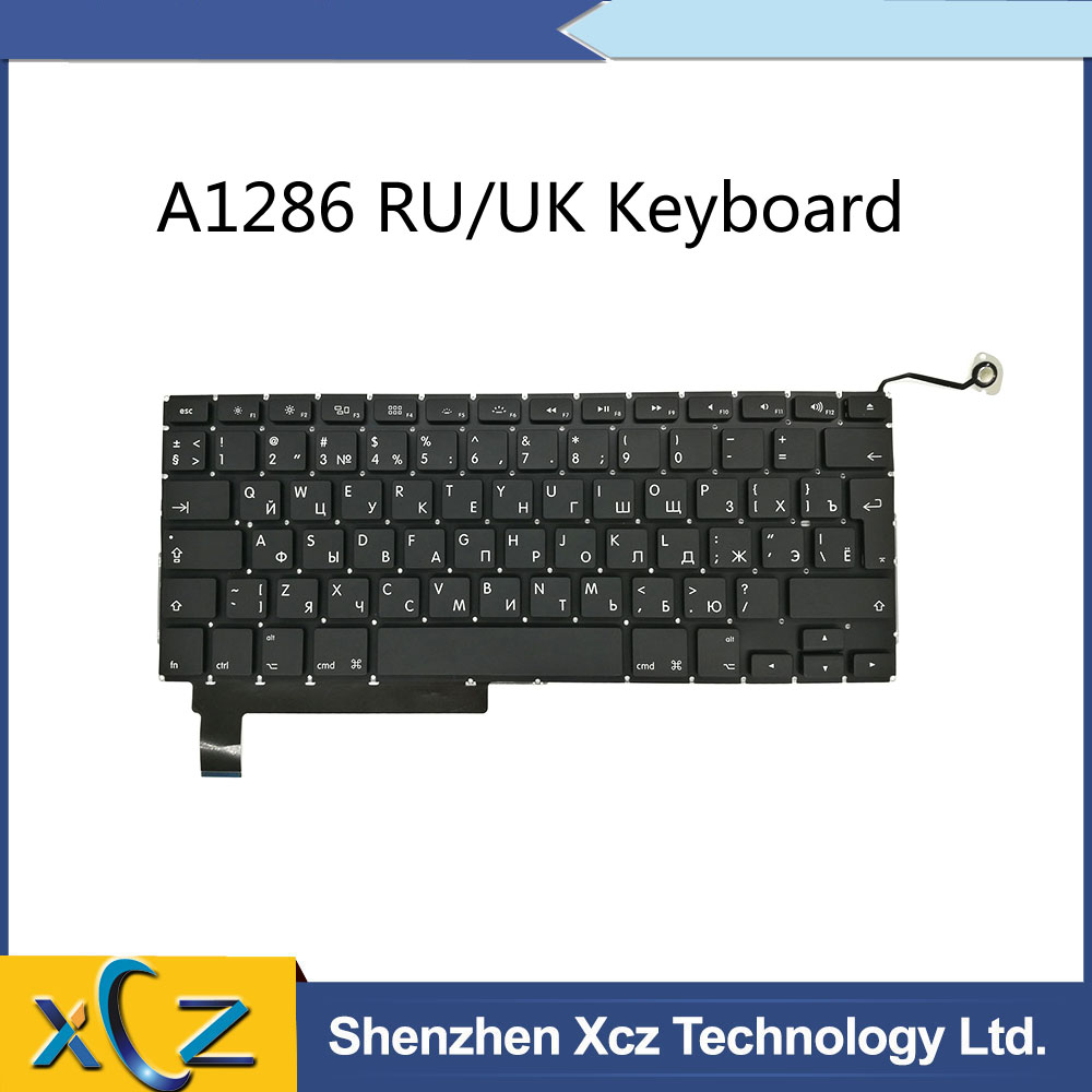 Replacement UK Keyboard for MacBook Pro Unibody 15/'/' 2009 2010 2011 2012 A1286
