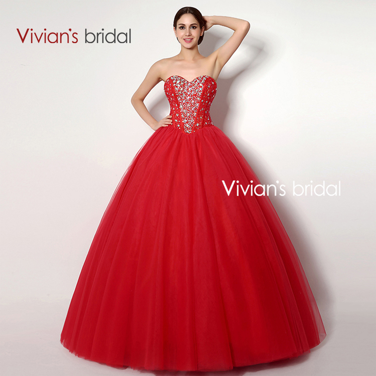 Popular Red Wedding Dresses-Buy Cheap Red Wedding Dresses lots ...