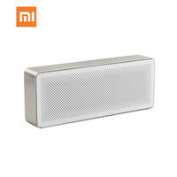 Xiaomi Mi Altavoz Bluetooth, Altavoces portátiles Cuadrado Caja 2 Estéreo Mini reproductor de MP3 de música inalámbrico Bluetooth 4.2