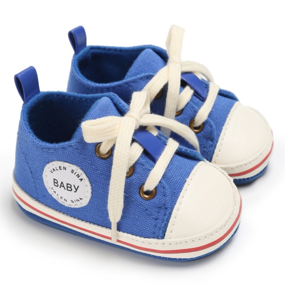 2018 Baby Shoes Infant first walkers Tollder Canvas Shoes Lace-up Baby Girls Sneaker Prewalker 0-18M