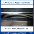 Helical gear and rack , 6 pcs Right helical rack and 4 pcs Left helical rack gear and pinion for 1224 and 1325 cnc machine
