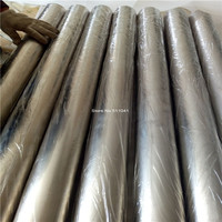 1pc Gr2 titanium tube 108mm*1.5mm*1000mm gr2 titanium pipe seamless tubing free shipping,Paypal is available