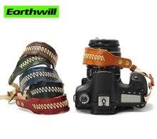 photo Leather SLR wristband retro camera manual micro single with leather rope strap