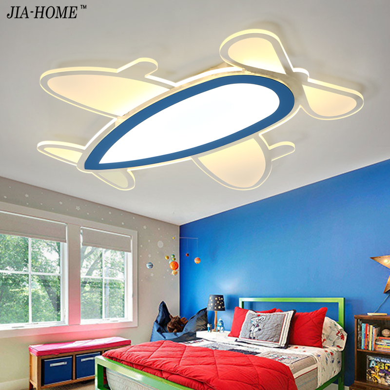 Led Ceiling Lights Remote Control Or Switch Airplane Shape Acrylic Ceiling Lamp For Living Room Bedroom De Techo Plafond Abajur Ceiling Lights