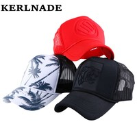 Men Women Fashion Summer Baseball Cap Solid Colorful Outdoor Sports Mesh Cool Snapback Hats For Adult
