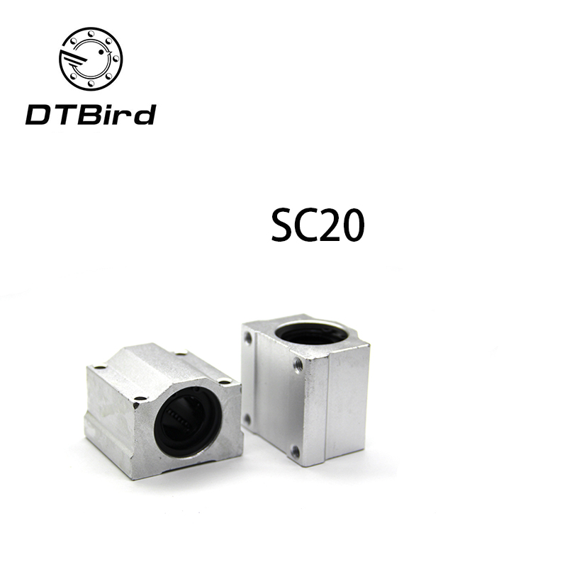 High qualityFast shipping SC20UU SCS20UU 20mm linear ball bearing slide unit 20mm linear bearing blockHigh qualityFast shipping SC20UU SCS20UU 20mm linear ball bearing slide unit 20mm linear bearing block