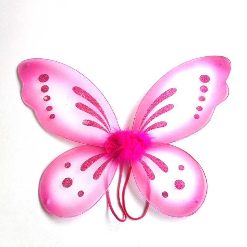 Ángel de alas de mariposa vestido de traje dulce niño bebé niño chico chica fiesta