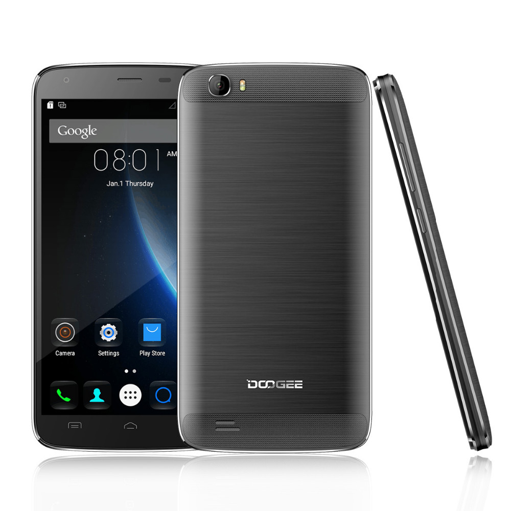 "Цена за Оригинал DOOGEE DOOGEE T6 Pro Android 6.0 MT6753 Octa Ядро смартфон 4 Г LTE 6250 мАч 5.5 ""RAM3GB ROM32GB 13MP Мобильный Телефон"