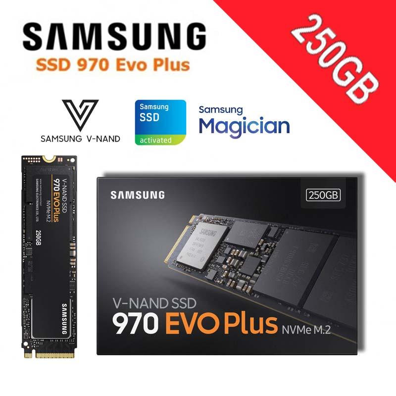 Samsung SSD M2 1TB NVMe M.2 2280 PCI-Express 3.0 X4 Solid State Drive 250GB 500GB 2TB 970 EVO Plus High Performance V-NAND Disk